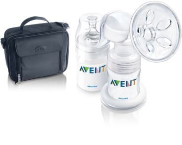 Out and about set Manual breast pump