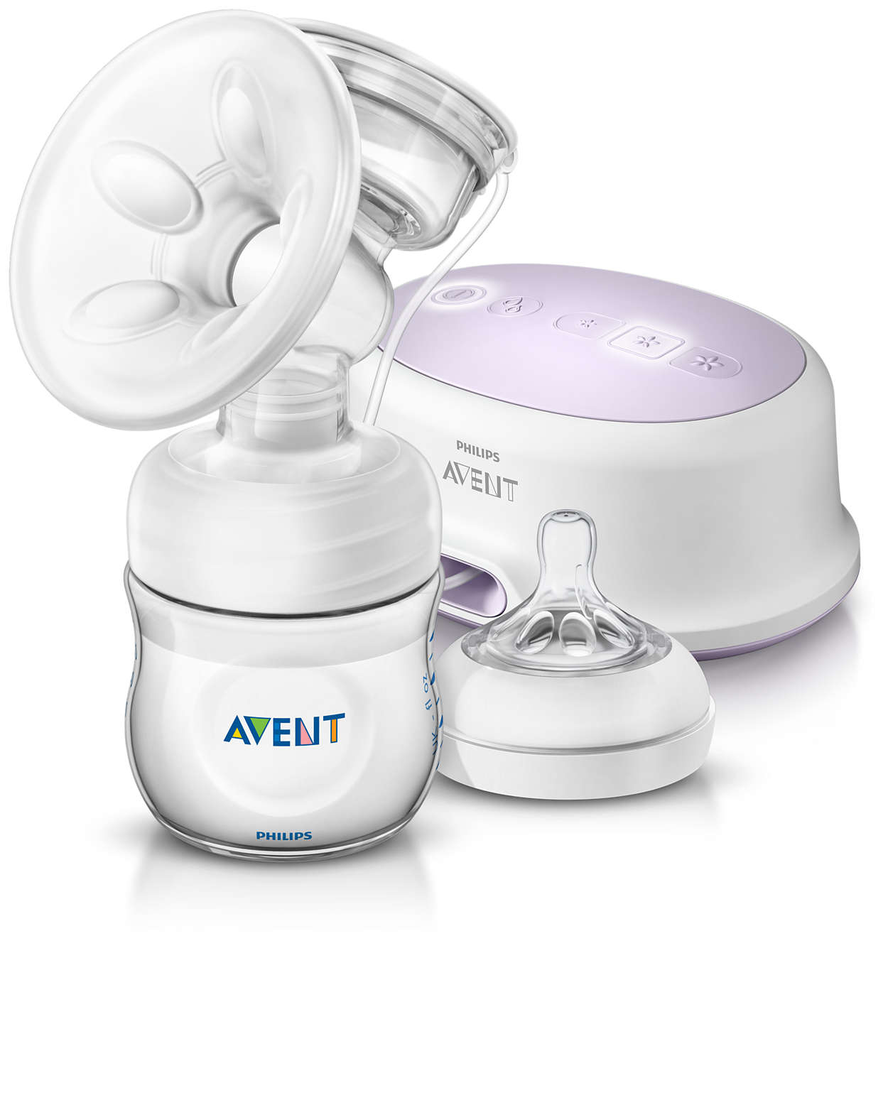 how to hold breast pump
