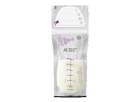 Breast Milk Storage Bags Scf603 50 Avent