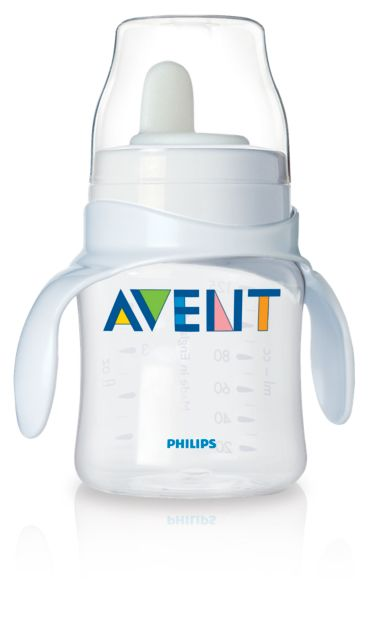 Philips Avent Baby Bottle to first trainer cup