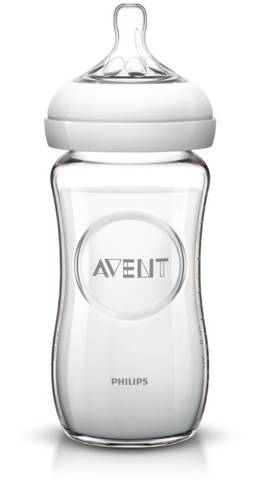 Philips Avent Biberon en verre Natural