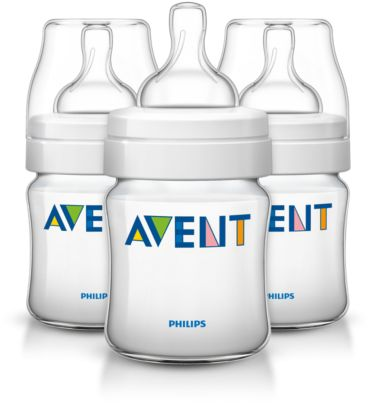 3 Classic 4oz/125ml Feeding bottle
