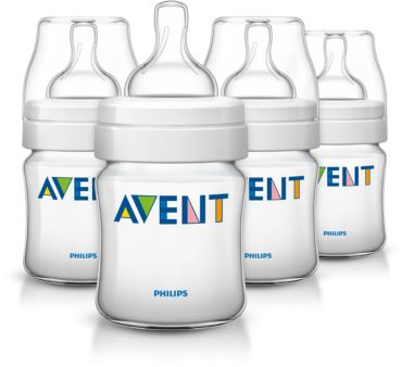 4 Classic 4oz/125ml Feeding bottle