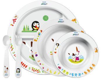 BPA-Free Toddler mealtime set 6m+