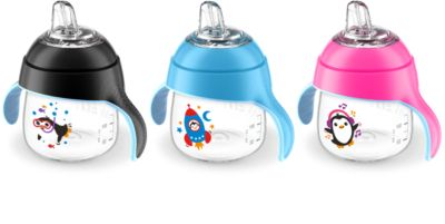 This review is fromPhilips Avent Spout Cup SCF751/22 My Little Sippy Cup 7oz/200ml 6m+ 2-pack.