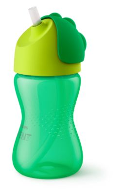 Philips Bendy sugerørskop 300 ml/10 oz, 12m+, 1-pak, sugerørskopper SCF798/01