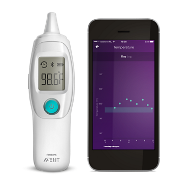 Avent Thermomètre d'oreille intelligent