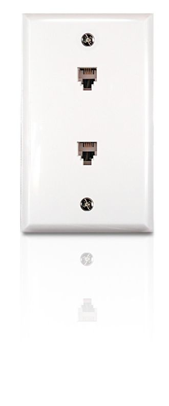 Philips  Duplex jack Flush mount SDJ6040H/17