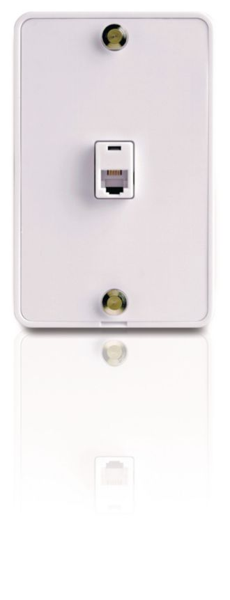 Philips  Wall jack Phone mount SDJ6650H/17