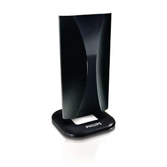 Acheter le philips antenne tv num rique sdv5122p 12 for Antenne numerique interieur