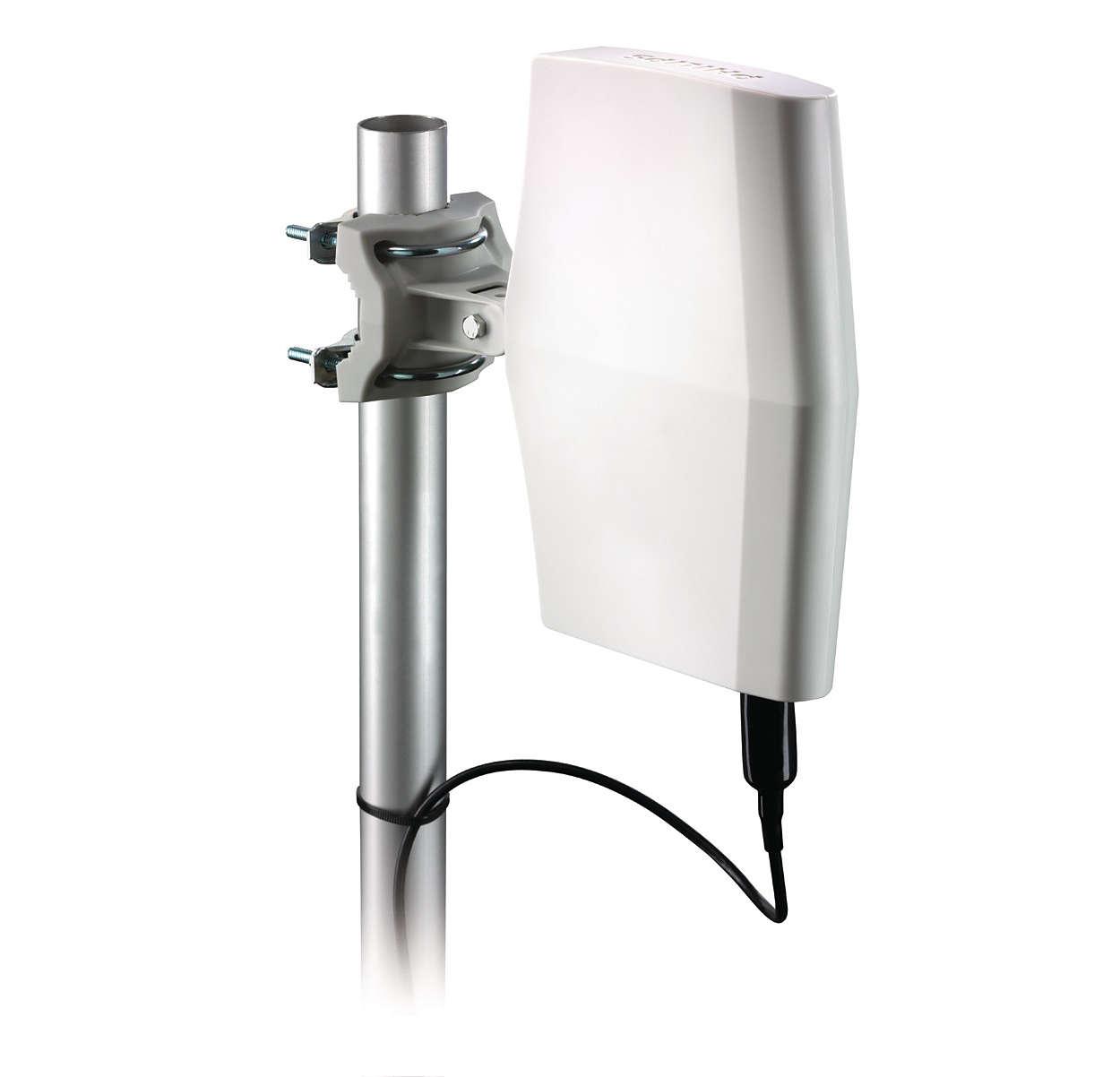 Antenna tv digitale sdv8622 12 philips - Antena tv exterior ...