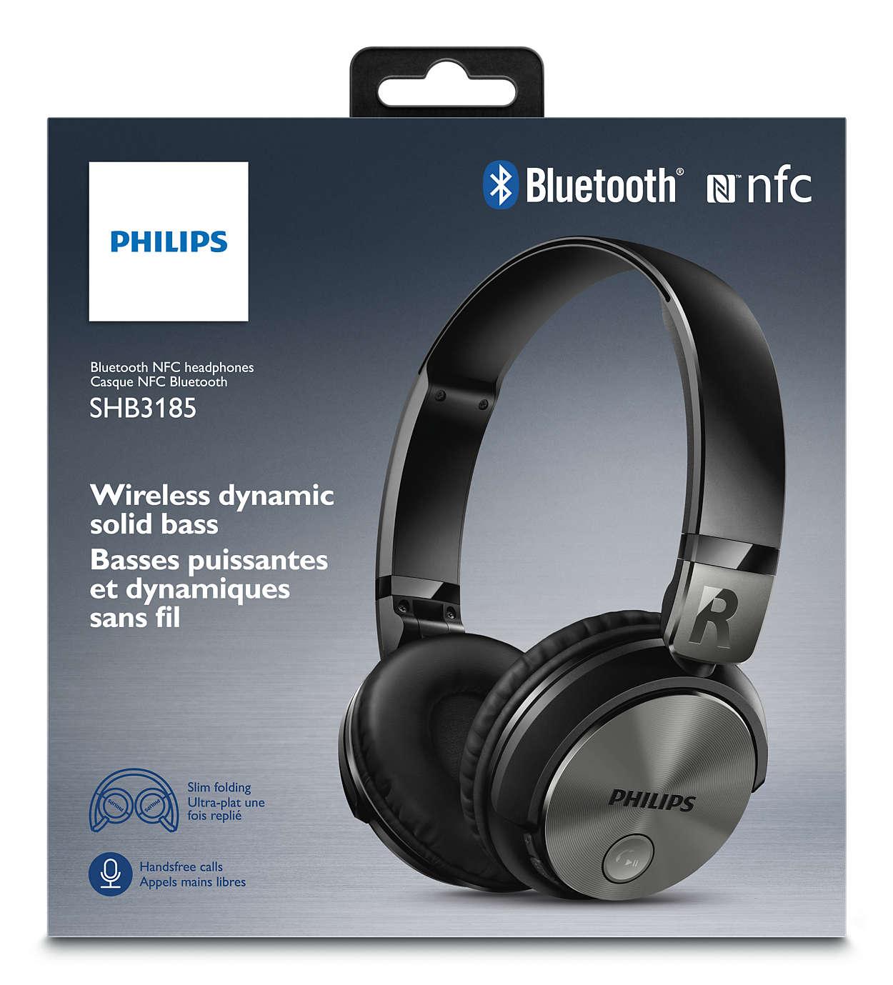 New philips shb3165 wireless cuffie bluetooth nero 1 anno - Cuffie traduzione ...