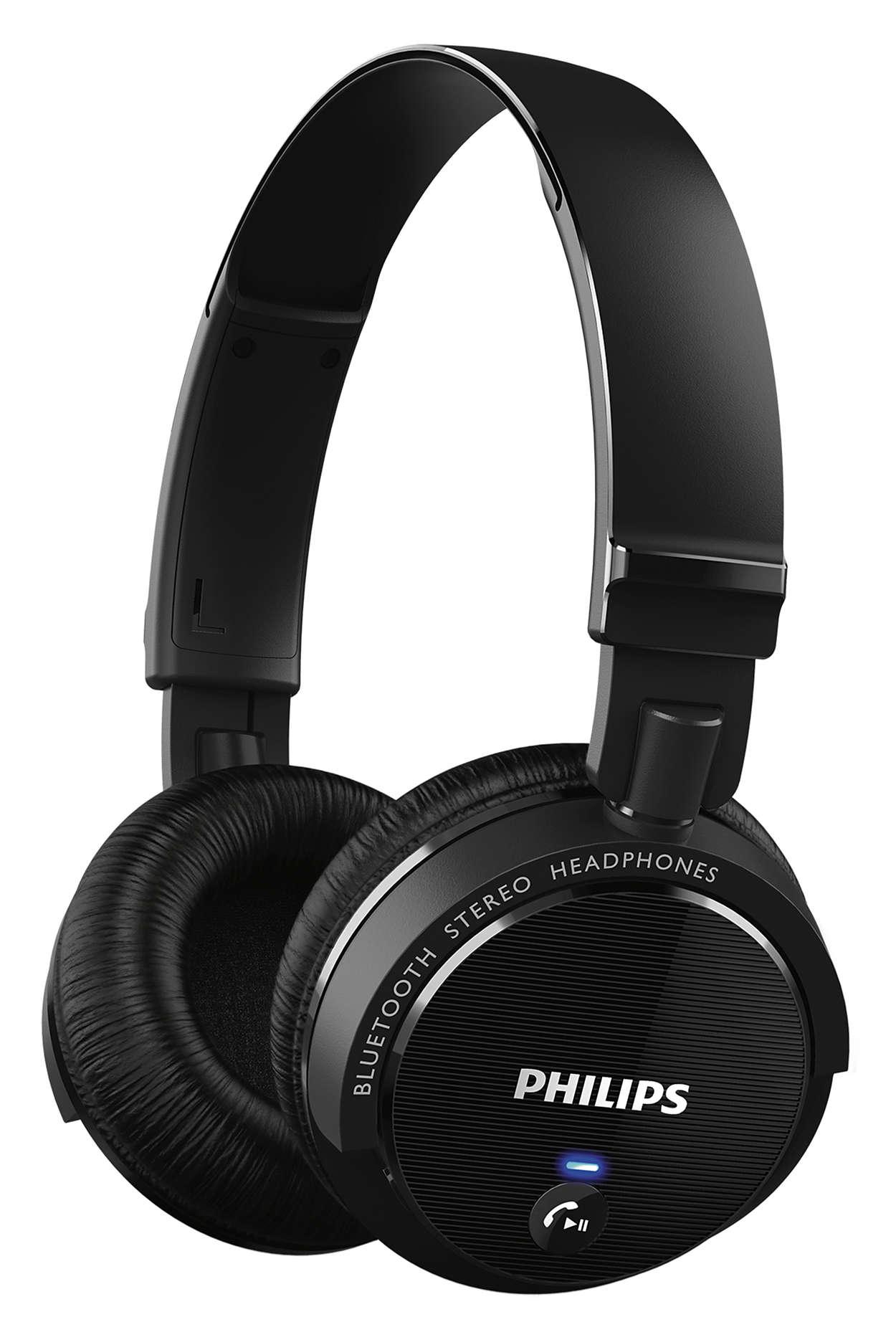 wireless bluetooth headphones shb5500bk 27 philips. Black Bedroom Furniture Sets. Home Design Ideas