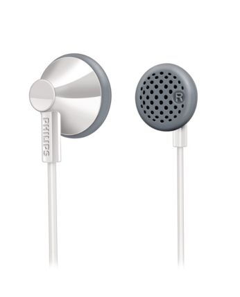 White In-Ear Headphones