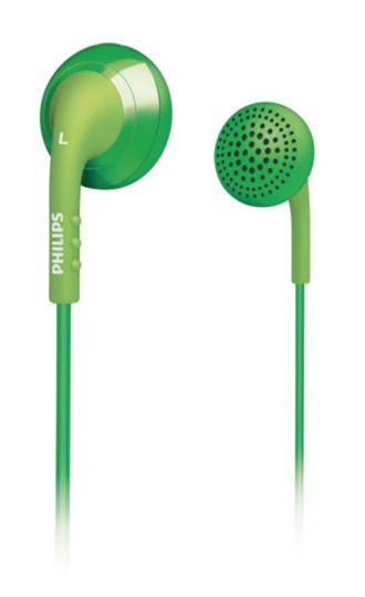 Philips  Audífonos intrauditivos  SHE2670GN/10