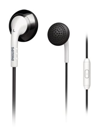 Philips  Audífonos intrauditivos  SHE2675BW/28
