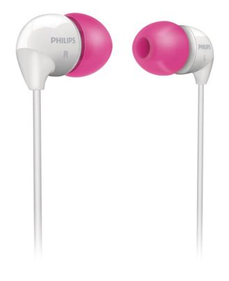 Philips  In-Ear Headphones  SHE3501PK/00
