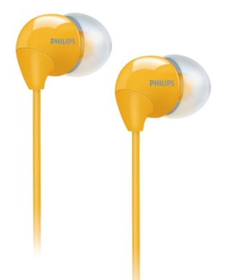 Philips  In-Ear Headphones  SHE3590YL/10