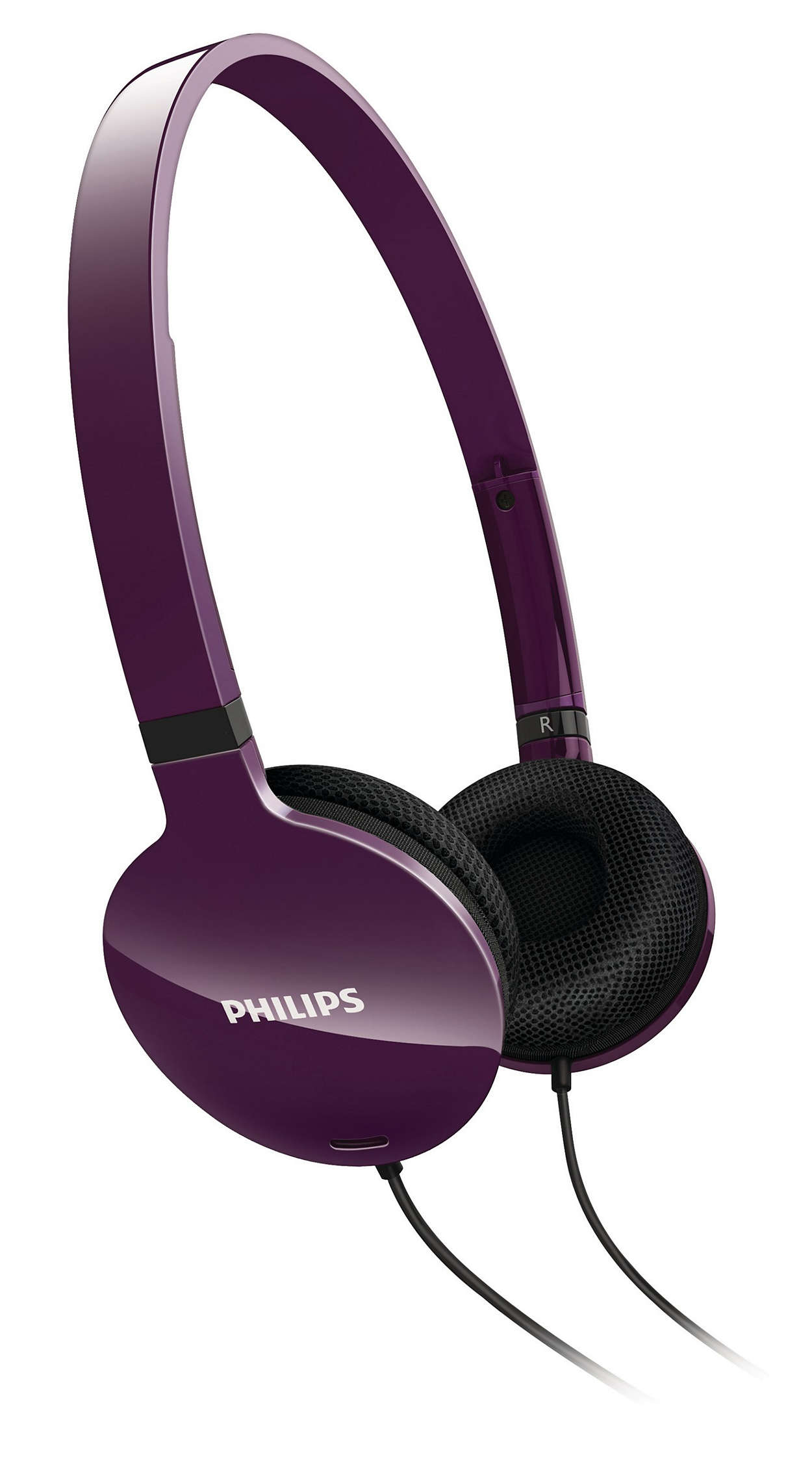 Lightweight comfort, powerful sound