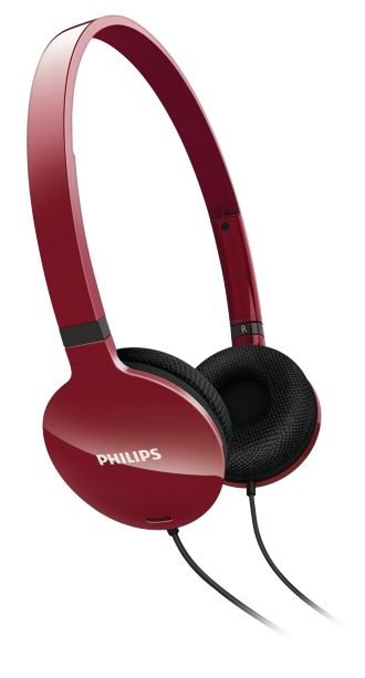 Philips  Lightweight Headphones  SHL1700RD/98