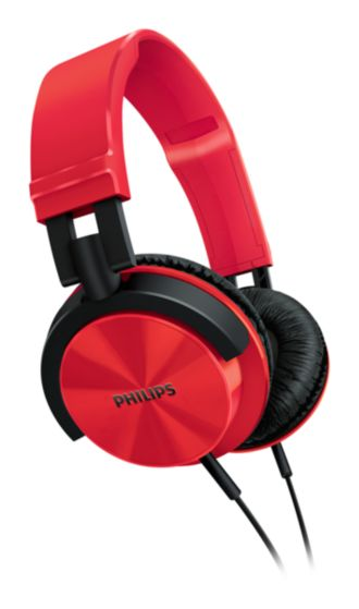 Philips  Headband headphones  SHL3000RD/00