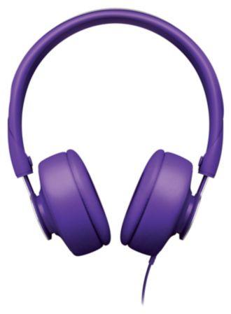 Philips  ant ausų uždedamos ausinės su lankeliu Downtown SHL5605PP/10