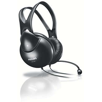 Philips Stereo PC headset SHM1900 at Flat Rs 489
