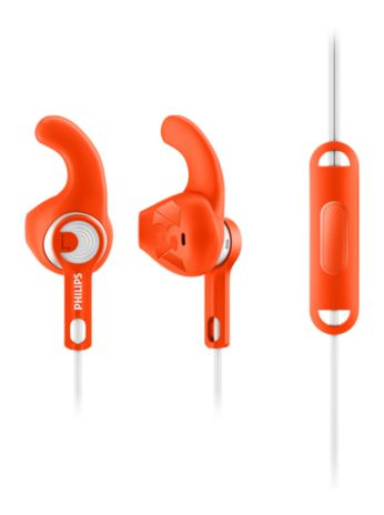 8.6mm drivers/open-back Sports headphones with mic