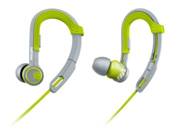8.6mm drivers/closed-back Sports in ear headphones
