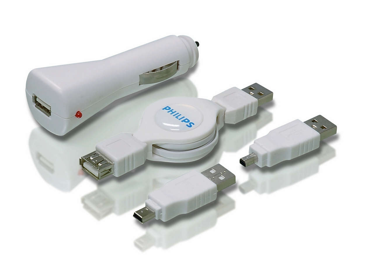 Carga tus dispositivos USB