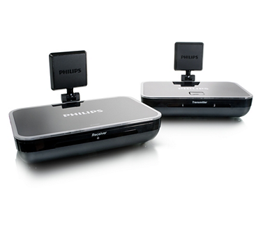 transmetteur d 39 images sans fil slv4200 12 philips. Black Bedroom Furniture Sets. Home Design Ideas