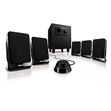 Multimedia speakers 5.1