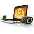 Notebook USB speakers