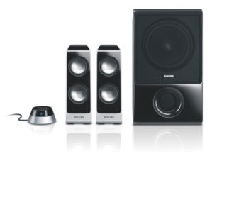 Philips  Altavoces multimedia 2.1  SPA7350/10