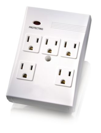 Philips  Home Electronics Surge Protector 5 outlets SPP3050A/17