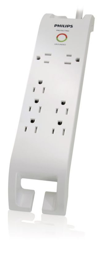 Philips  Home Electronics Surge Protector 7 outlets SPP3070E/17
