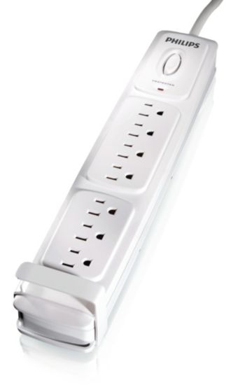 Philips  Home Electronics Surge Protector 7 outlets SPP3070J/17