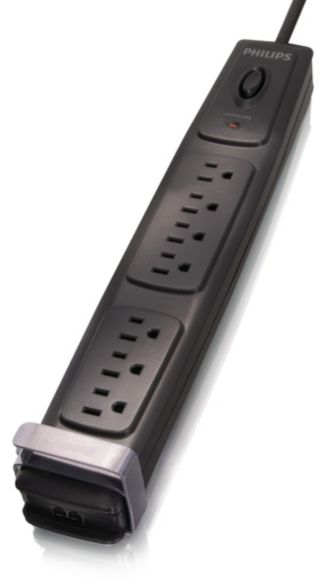 Philips  Home Office Surge Protector 7 outlets SPP4071A/17
