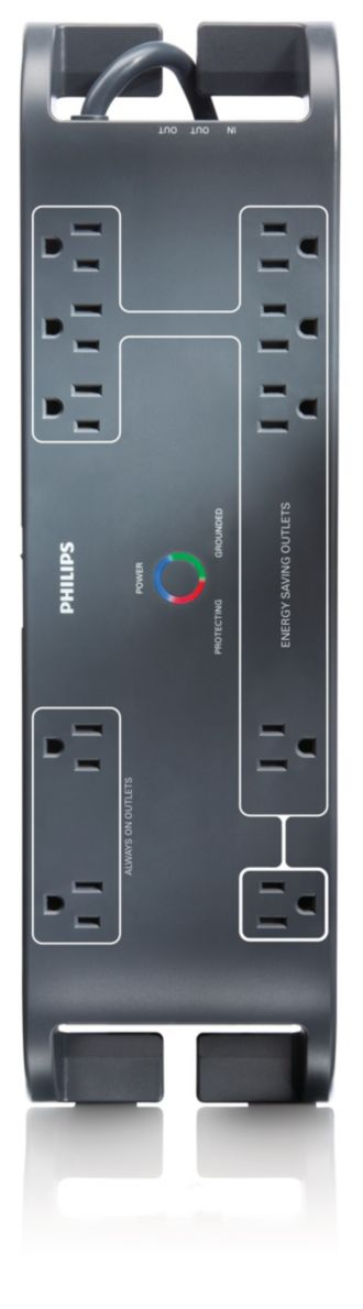 Philips  Home Office Surge Protector 10 outlets SPP4105C/17