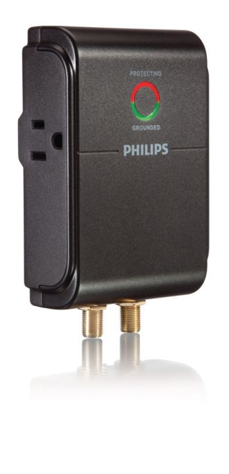 Philips  Home Theater Surge Protector 2 outlets SPP5025A/17