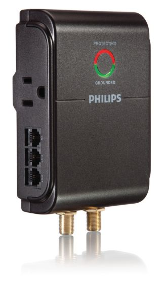 Philips  Home Theater Surge Protector 3 outlets SPP5035A/17