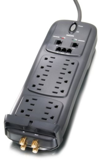 Philips  Home Theater Surge Protector 14 outlets SPP5145A/17