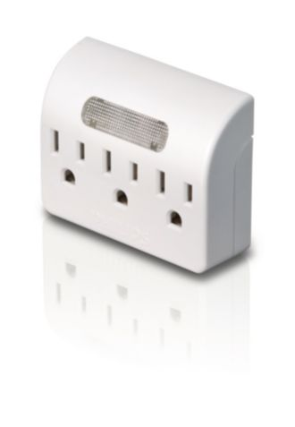 Philips  Power multiplier 3 outlets SPS1030A/17
