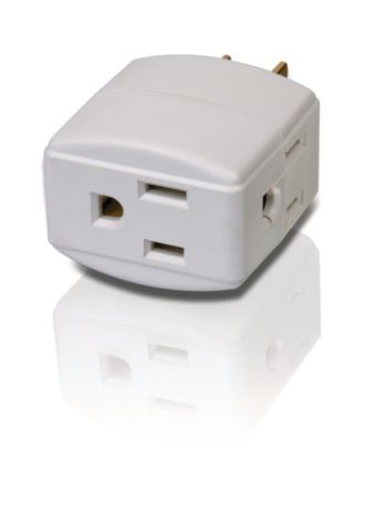 Philips  Power multiplier 3 outlets SPS1030L/17