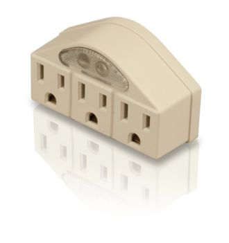 Philips  Power multiplier 3 outlets SPS1030M/17