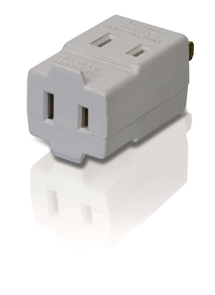 Power multiplier sps1030n 17 philips - Electrical outlet multiplier ...