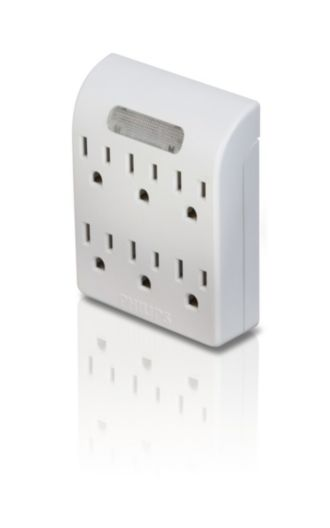 Philips  Power multiplier 6 outlets SPS1060N/17