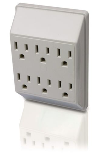 Philips  Power multiplier 6 outlets SPS1060U/17