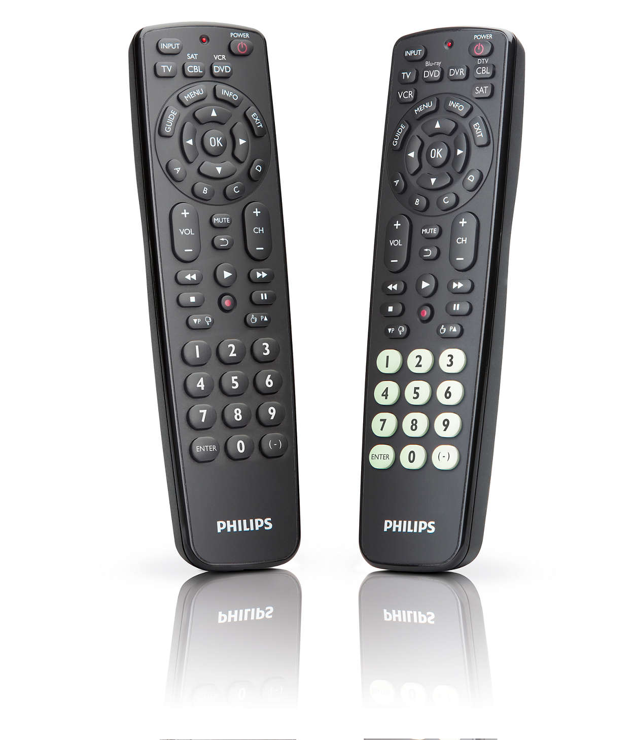 perfect replacement universal remote control src2063wm 17 philips. Black Bedroom Furniture Sets. Home Design Ideas