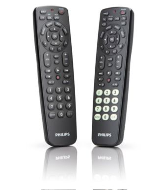 Philips  Universal remote control 6+3 combo pack SRC2063WM/17